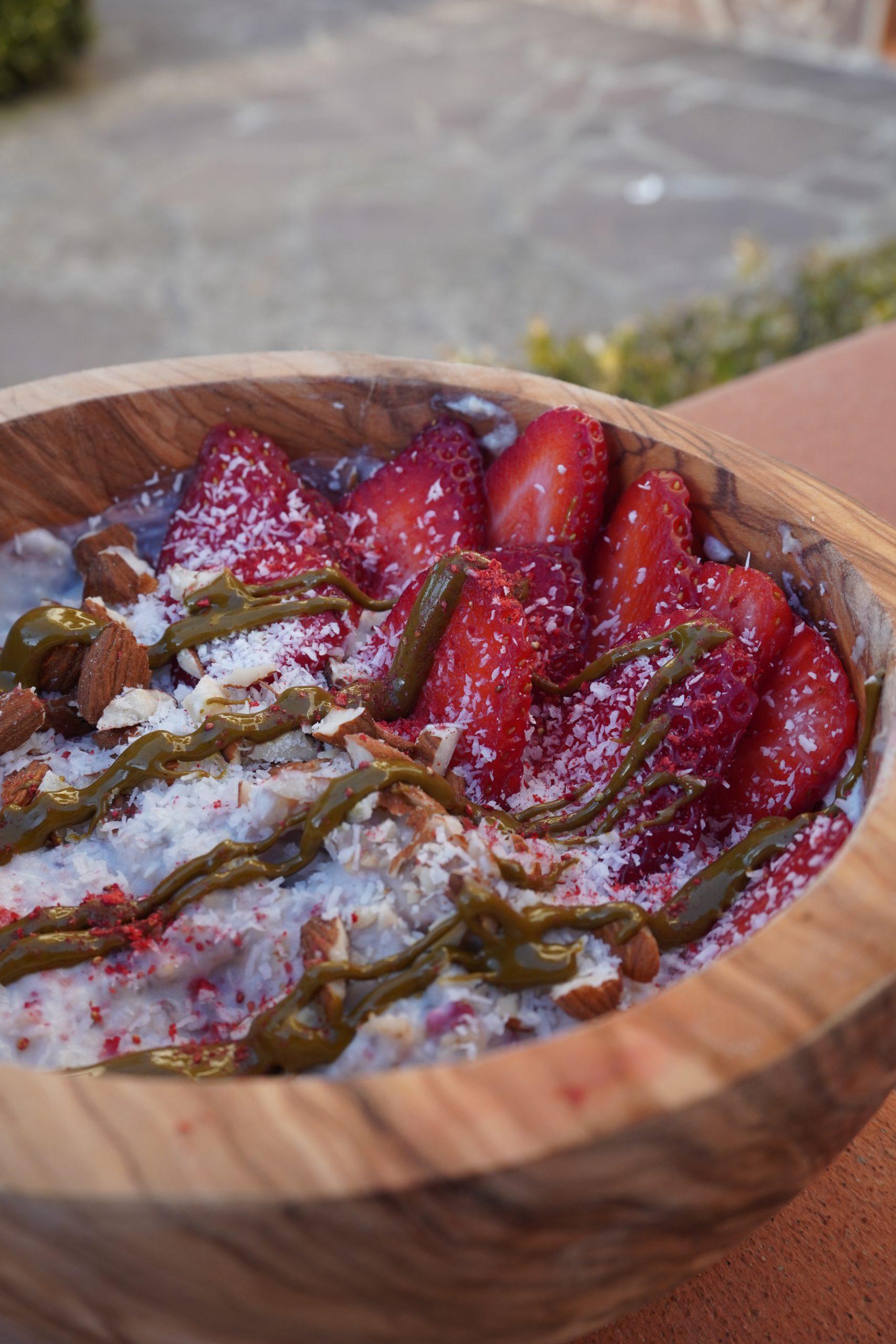 porridge vegano proteico